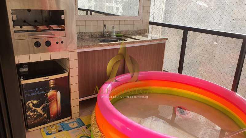 24 - Apartamento à venda Rua Potiguara,Freguesia (Jacarepaguá), Rio de Janeiro - R$ 571.000 - AOJ30087 - 5