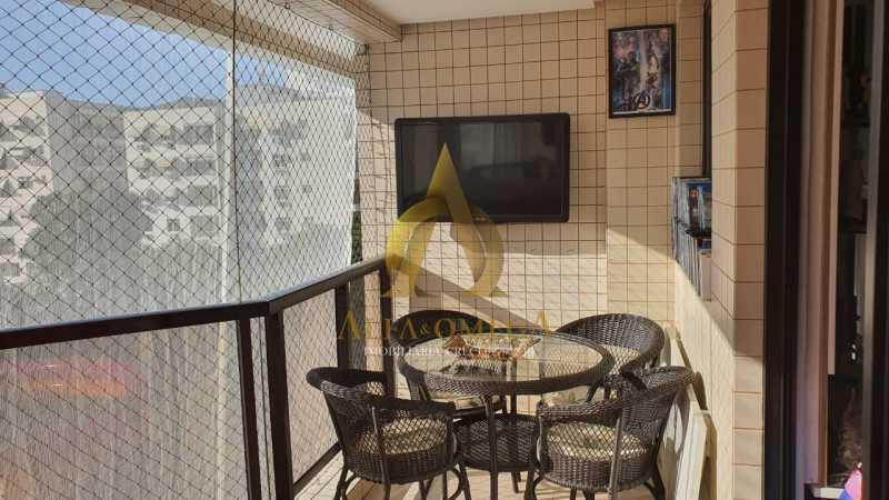 25 - Apartamento à venda Rua Potiguara,Freguesia (Jacarepaguá), Rio de Janeiro - R$ 571.000 - AOJ30087 - 6
