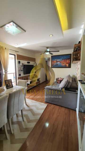 27 - Apartamento à venda Rua Potiguara,Freguesia (Jacarepaguá), Rio de Janeiro - R$ 571.000 - AOJ30087 - 1