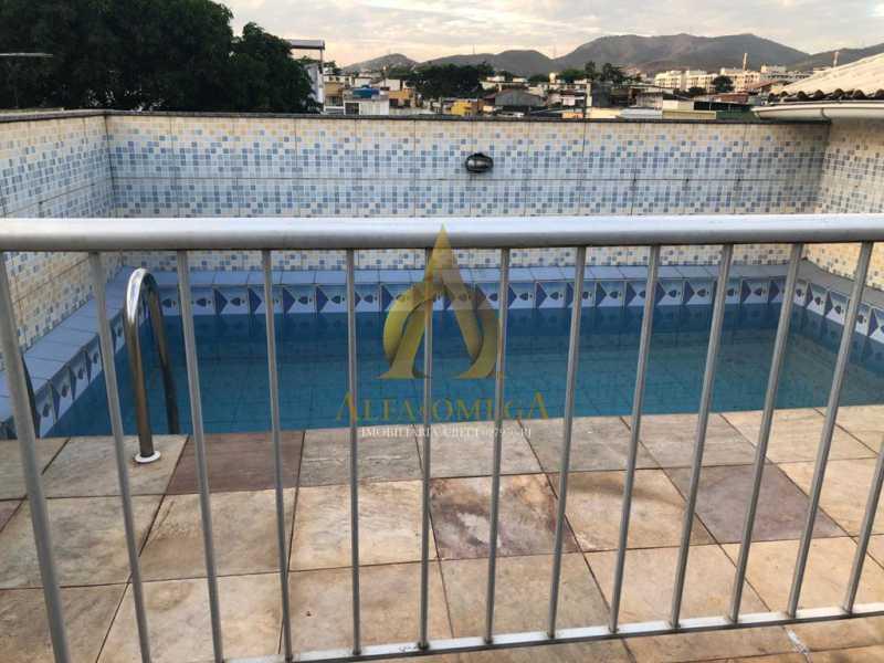 1 - Casa em Condomínio 5 quartos à venda Taquara, Rio de Janeiro - R$ 740.000 - AOJ60172 - 12