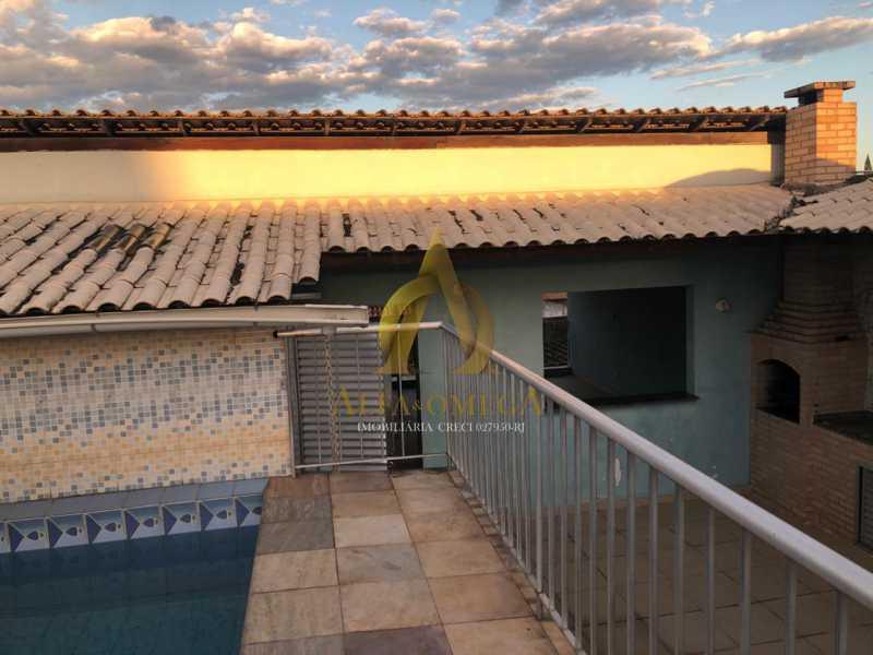 19 - Casa em Condomínio 5 quartos à venda Taquara, Rio de Janeiro - R$ 740.000 - AOJ60172 - 16
