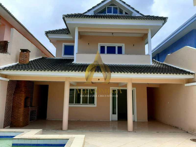 IMG-20201026-WA0058 - Casa em Condomínio 4 quartos à venda Recreio dos Bandeirantes, Rio de Janeiro - R$ 1.350.000 - AO60151 - 1