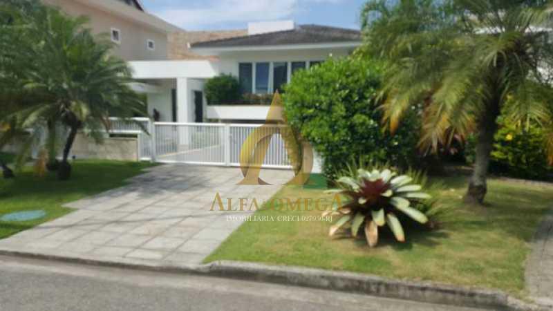 WhatsApp Image 2020-11-05 at 1 - Casa em Condomínio 4 quartos para venda e aluguel Barra da Tijuca, Rio de Janeiro - R$ 4.300.000 - AO60152 - 1