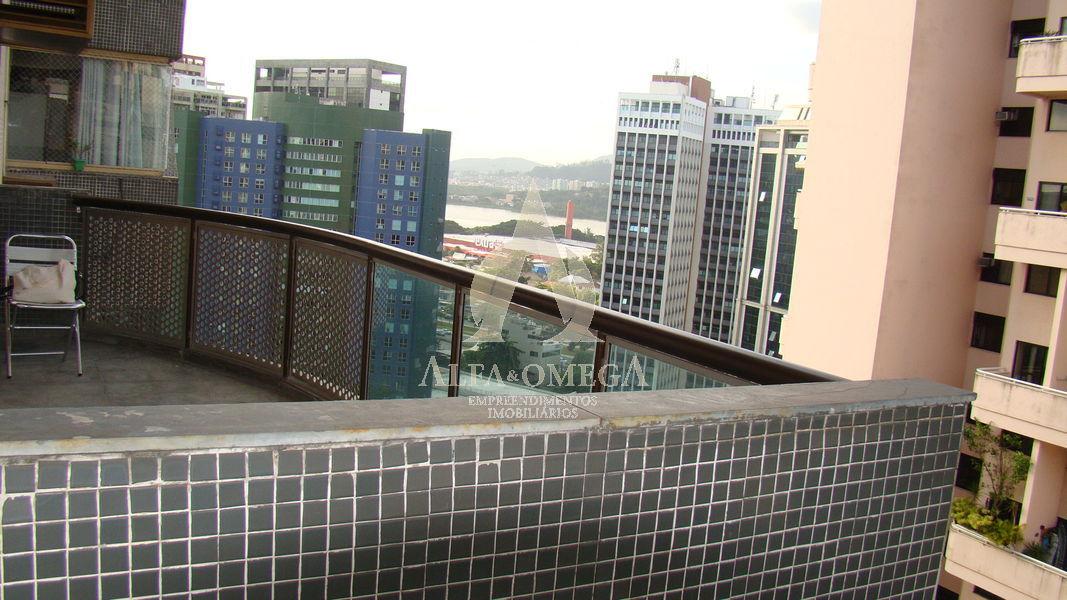 FOTO 1 - Apartamento 2 quartos à venda Barra da Tijuca, Rio de Janeiro - R$ 680.000 - AO20241 - 1