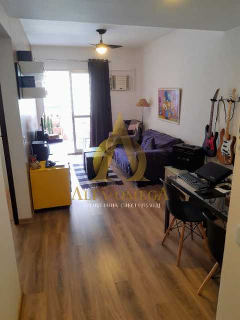 71f20c45-8616-455e-82ef-f47778 - Apartamento 1 quarto à venda Barra da Tijuca, Rio de Janeiro - R$ 600.000 - AO10259 - 9