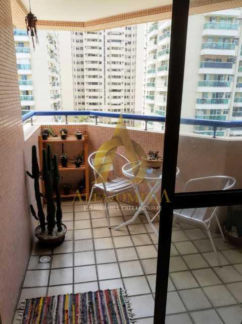 06185fa8-1c09-4010-ae6c-10e617 - Apartamento 1 quarto à venda Barra da Tijuca, Rio de Janeiro - R$ 600.000 - AO10259 - 5