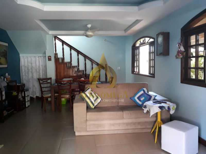 2 - Casa em Condomínio 4 quartos à venda Taquara, Rio de Janeiro - R$ 1.200.000 - AOJ60189 - 4