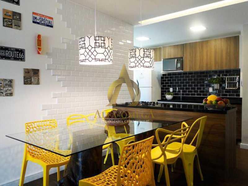 1 - Apartamento 2 quartos à venda Barra da Tijuca, Rio de Janeiro - R$ 350.000 - AO20479 - 3