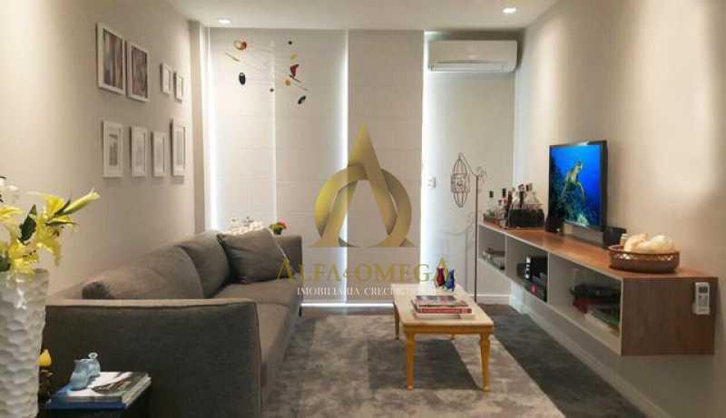 3 - Apartamento 2 quartos à venda Barra da Tijuca, Rio de Janeiro - R$ 350.000 - AO20479 - 1