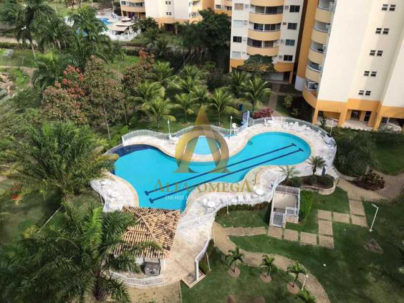6 - Apartamento 2 quartos à venda Barra da Tijuca, Rio de Janeiro - R$ 350.000 - AO20479 - 16