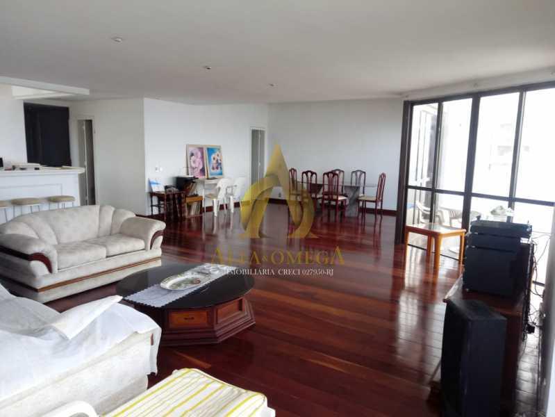 1 - Apartamento 4 quartos à venda Barra da Tijuca, Rio de Janeiro - R$ 5.999.000 - AO40081 - 1