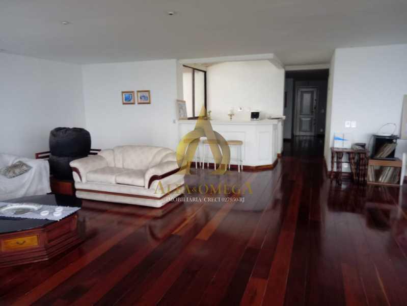 2 - Apartamento 4 quartos à venda Barra da Tijuca, Rio de Janeiro - R$ 5.999.000 - AO40081 - 3