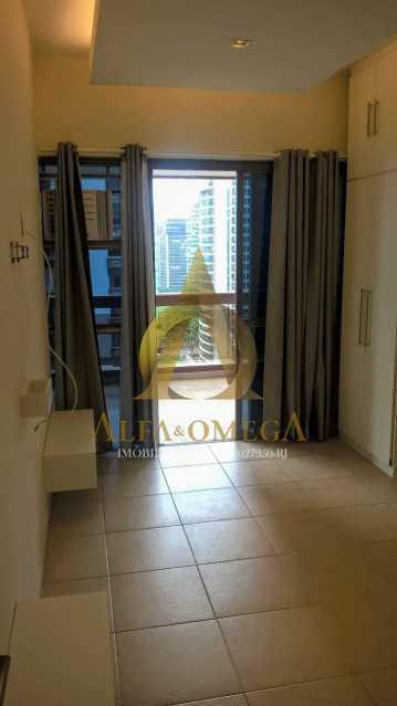 3 - Flat 1 quarto à venda Barra da Tijuca, Rio de Janeiro - R$ 875.000 - AO10260 - 1