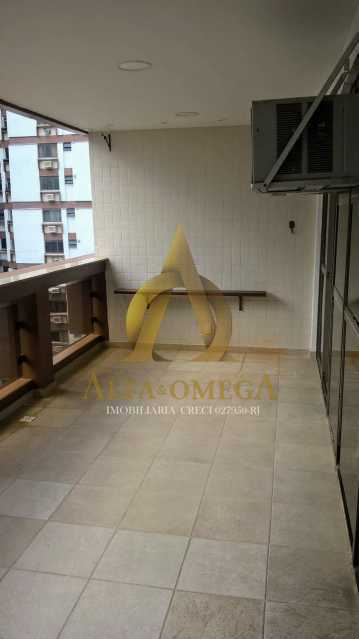 6 - Flat 1 quarto à venda Barra da Tijuca, Rio de Janeiro - R$ 875.000 - AO10260 - 3