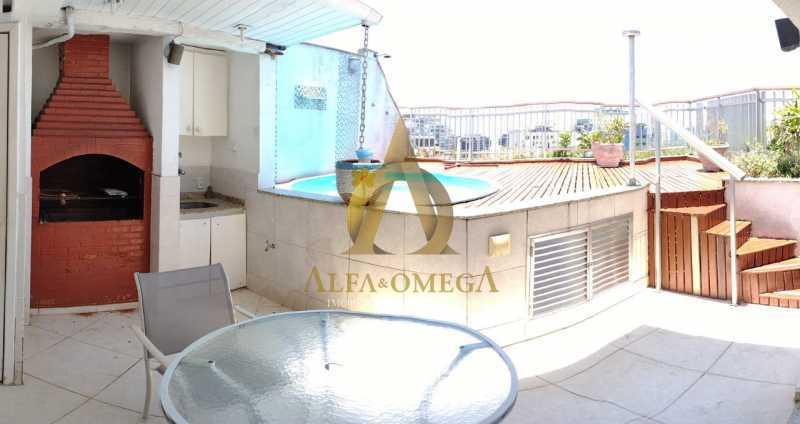 16 - Cobertura 3 quartos à venda Barra da Tijuca, Rio de Janeiro - R$ 1.280.000 - AOJC50127 - 23