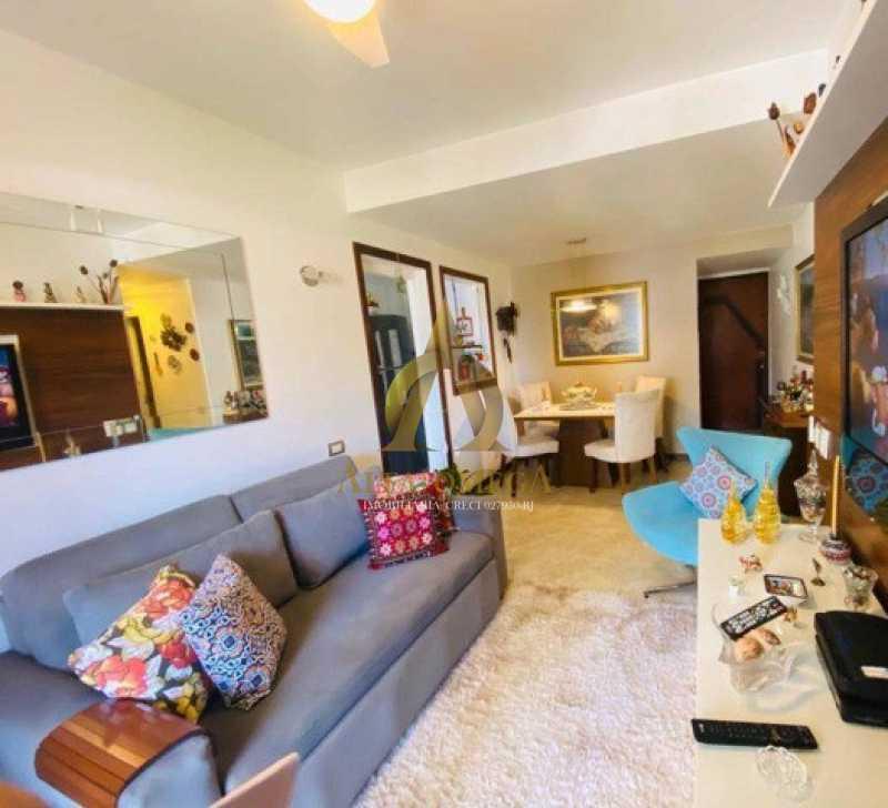 1 - Apartamento 2 quartos à venda Barra da Tijuca, Rio de Janeiro - R$ 760.000 - AO20491 - 1