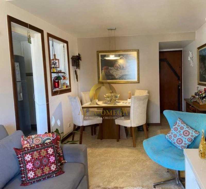 9 - Apartamento 2 quartos à venda Barra da Tijuca, Rio de Janeiro - R$ 760.000 - AO20491 - 7