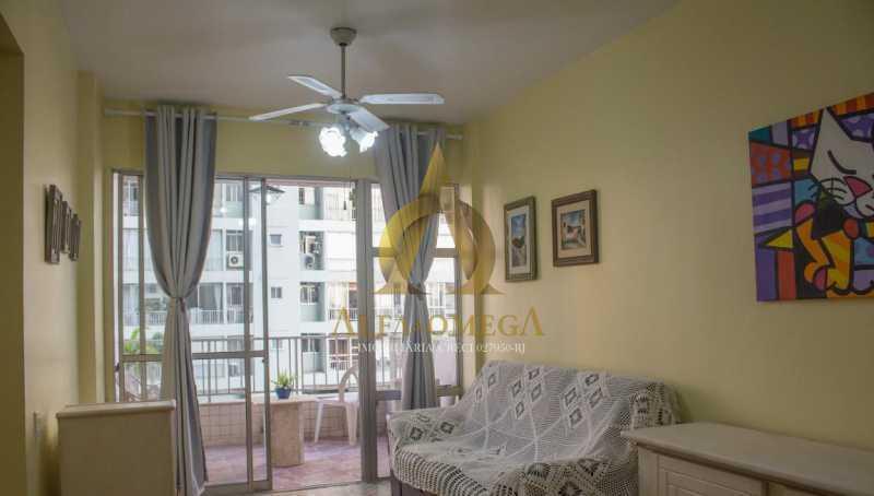 4. - Apartamento 1 quarto para venda e aluguel Barra da Tijuca, Rio de Janeiro - R$ 630.000 - AO10261 - 1