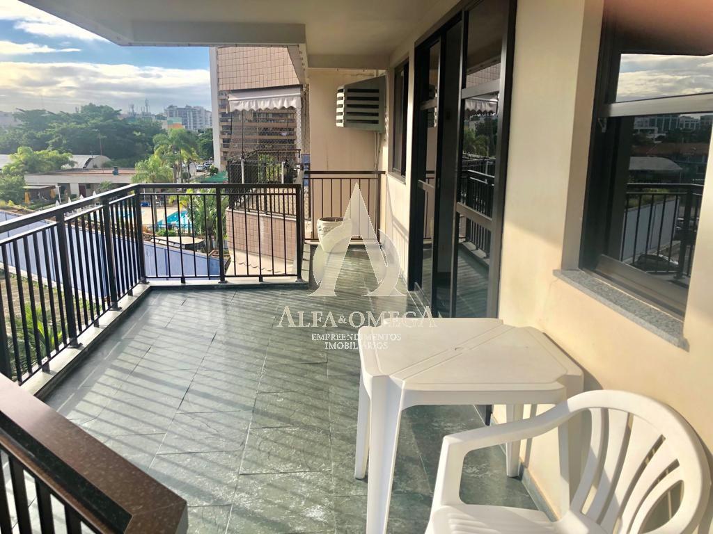 FOTO 2 - Apartamento 2 quartos para alugar Barra da Tijuca, Rio de Janeiro - R$ 2.299 - AO20251L - 3