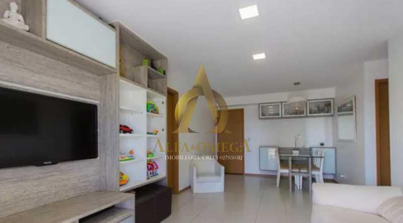 2. - Apartamento 3 quartos à venda Barra da Tijuca, Rio de Janeiro - R$ 630.000 - AO30244 - 1