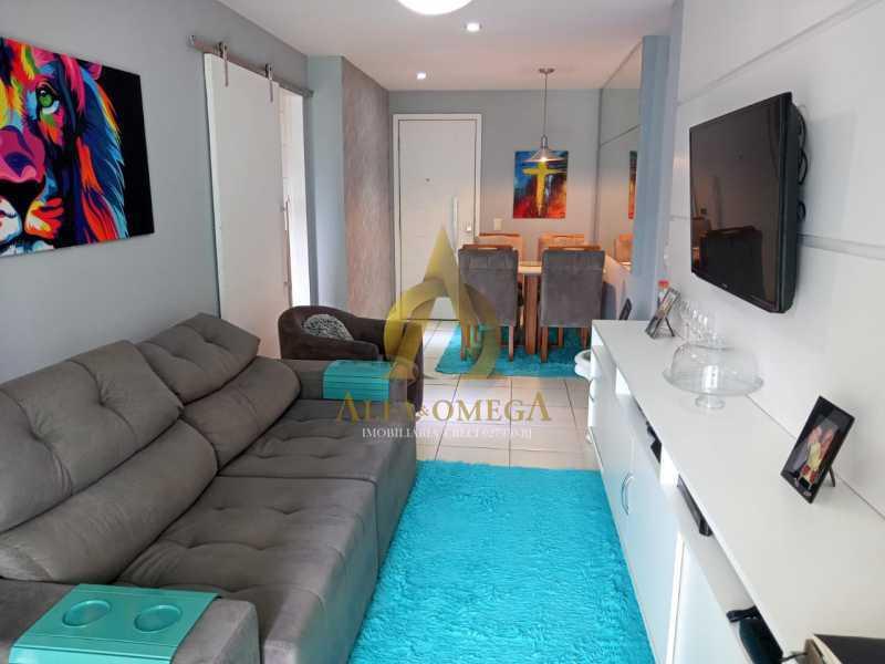 12. - Apartamento 2 quartos à venda Barra da Tijuca, Rio de Janeiro - R$ 649.000 - AO20493 - 3