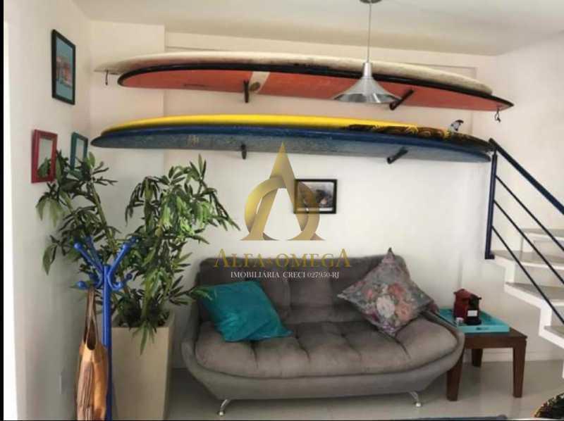2. - Casa em Condomínio 3 quartos à venda Recreio dos Bandeirantes, Rio de Janeiro - R$ 1.520.000 - AO60160 - 5