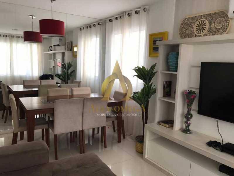4. - Casa em Condomínio 3 quartos à venda Recreio dos Bandeirantes, Rio de Janeiro - R$ 1.520.000 - AO60160 - 3