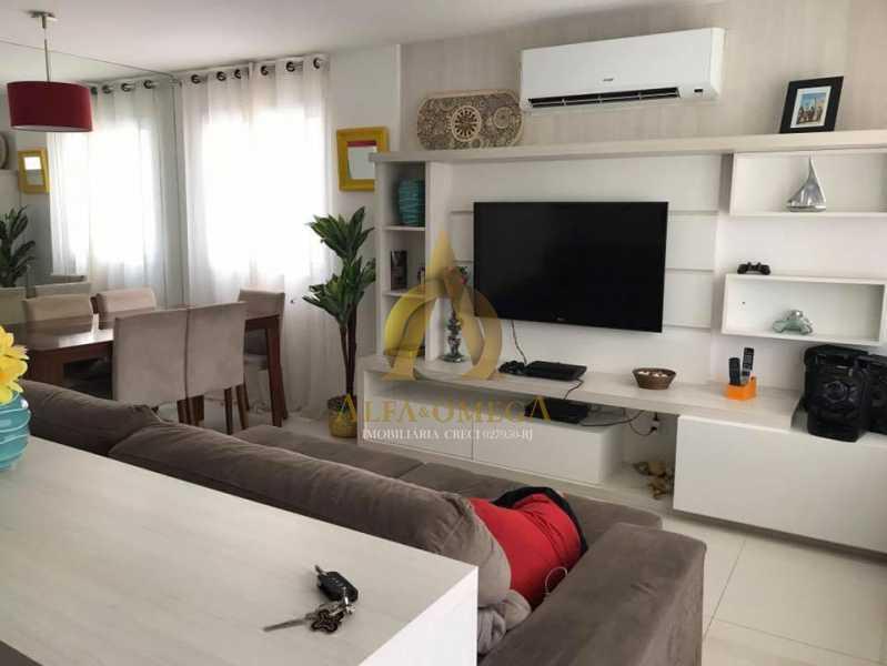 5. - Casa em Condomínio 3 quartos à venda Recreio dos Bandeirantes, Rio de Janeiro - R$ 1.520.000 - AO60160 - 1