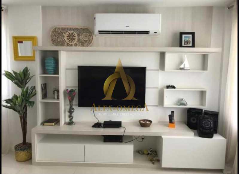 6. - Casa em Condomínio 3 quartos à venda Recreio dos Bandeirantes, Rio de Janeiro - R$ 1.520.000 - AO60160 - 4
