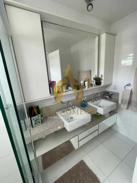 18. - Casa em Condomínio 3 quartos à venda Recreio dos Bandeirantes, Rio de Janeiro - R$ 1.520.000 - AO60160 - 19