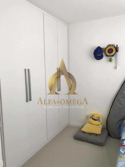 24. - Casa em Condomínio 3 quartos à venda Recreio dos Bandeirantes, Rio de Janeiro - R$ 1.520.000 - AO60160 - 15