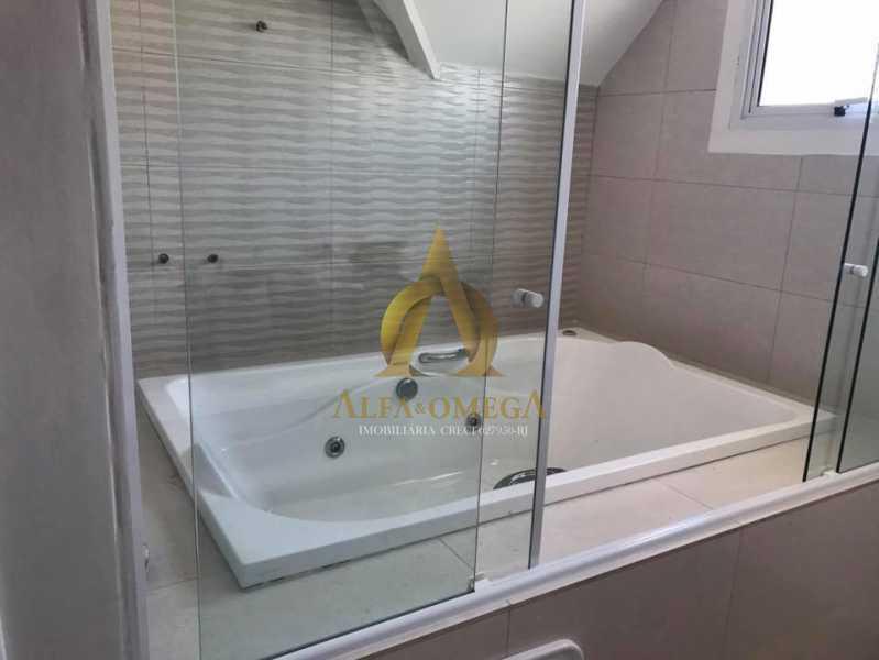 25. - Casa em Condomínio 3 quartos à venda Recreio dos Bandeirantes, Rio de Janeiro - R$ 1.520.000 - AO60160 - 20