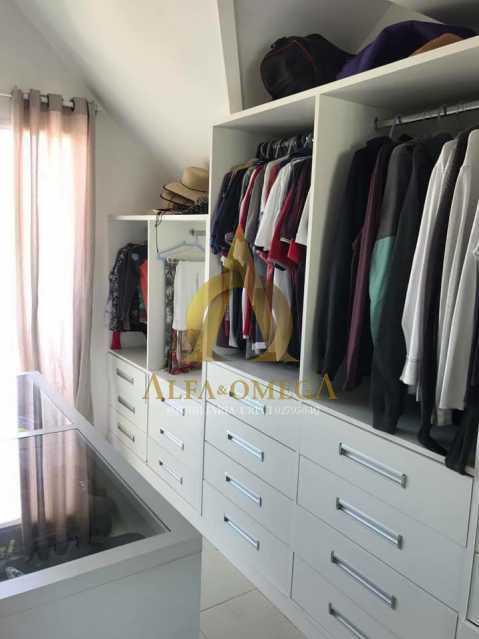 27. - Casa em Condomínio 3 quartos à venda Recreio dos Bandeirantes, Rio de Janeiro - R$ 1.520.000 - AO60160 - 12