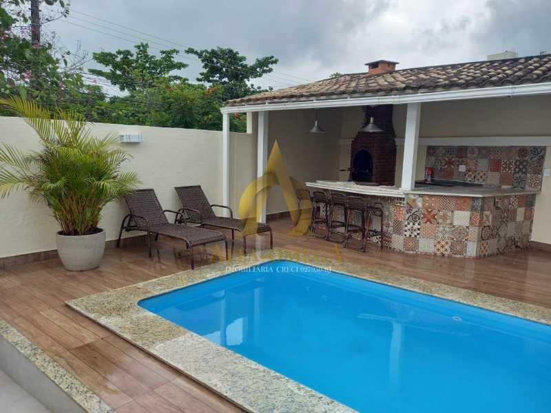 9. - Casa em Condomínio 3 quartos à venda Recreio dos Bandeirantes, Rio de Janeiro - R$ 1.650.000 - AO60161 - 24