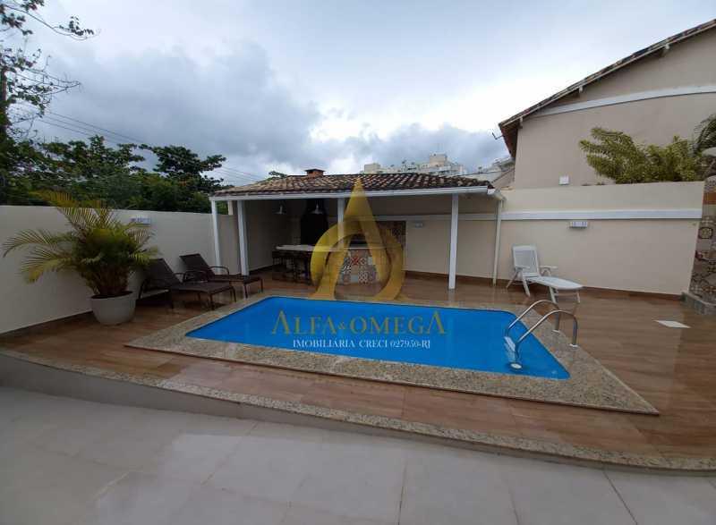 10. - Casa em Condomínio 3 quartos à venda Recreio dos Bandeirantes, Rio de Janeiro - R$ 1.650.000 - AO60161 - 25