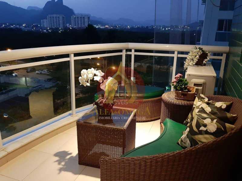 WhatsApp Image 2021-04-05 at 1 - Apartamento 3 quartos à venda Jacarepaguá, Rio de Janeiro - R$ 750.000 - AO30249 - 4