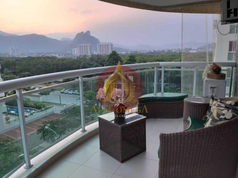 WhatsApp Image 2021-04-05 at 1 - Apartamento 3 quartos à venda Jacarepaguá, Rio de Janeiro - R$ 750.000 - AO30249 - 1