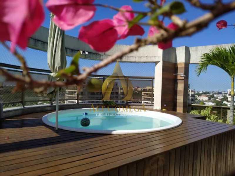 4 - Cobertura 2 quartos à venda Recreio dos Bandeirantes, Rio de Janeiro - R$ 924.000 - AO50132 - 18