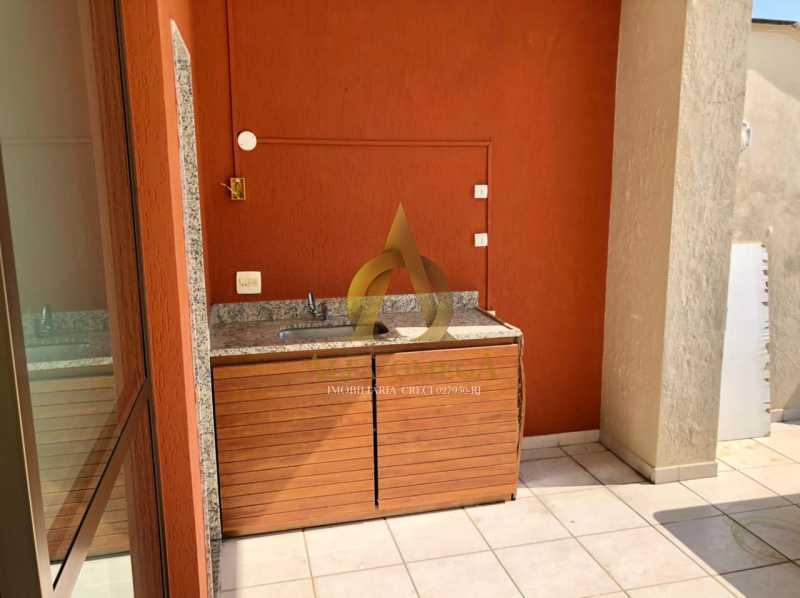 1 - Cobertura 1 quarto à venda Barra da Tijuca, Rio de Janeiro - R$ 2.365.000 - AO50133 - 20