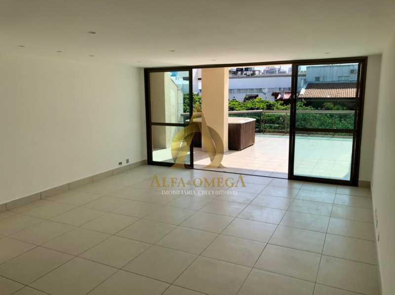 11 - Cobertura 1 quarto à venda Barra da Tijuca, Rio de Janeiro - R$ 2.365.000 - AO50133 - 1