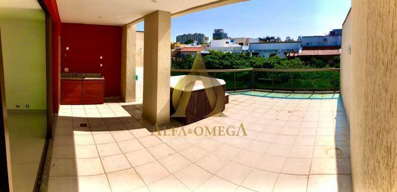 20 - Cobertura 1 quarto à venda Barra da Tijuca, Rio de Janeiro - R$ 2.365.000 - AO50133 - 18