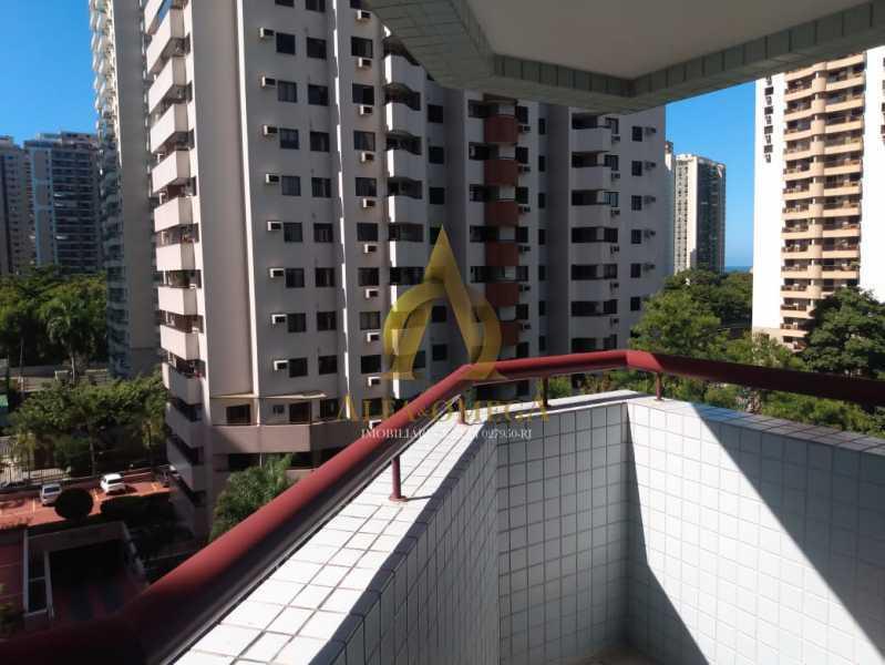4. - Apartamento 1 quarto à venda Barra da Tijuca, Rio de Janeiro - R$ 560.000 - AO10262 - 1