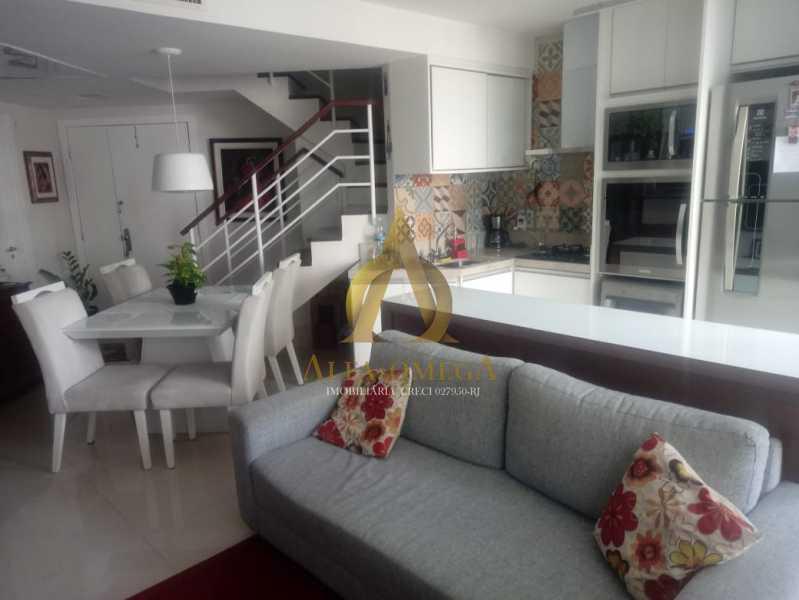 1. - Apartamento 2 quartos à venda Barra da Tijuca, Rio de Janeiro - R$ 1.415.000 - AO20509 - 5