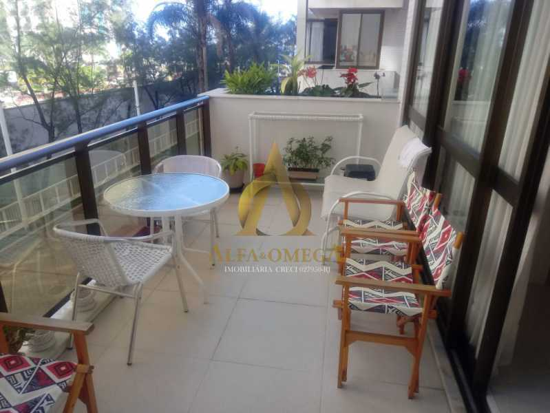 2. - Apartamento 2 quartos à venda Barra da Tijuca, Rio de Janeiro - R$ 1.415.000 - AO20509 - 3
