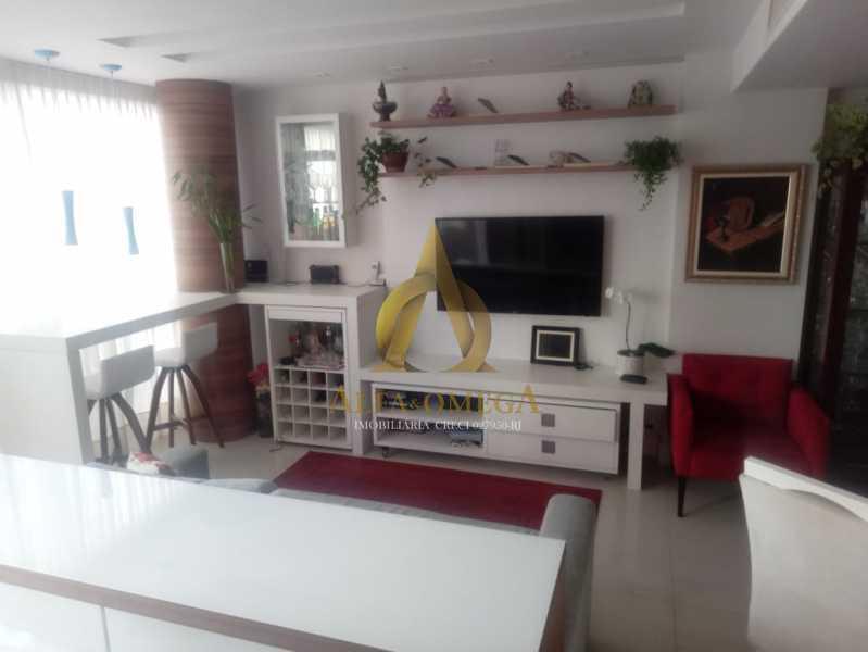 3. - Apartamento 2 quartos à venda Barra da Tijuca, Rio de Janeiro - R$ 1.415.000 - AO20509 - 1