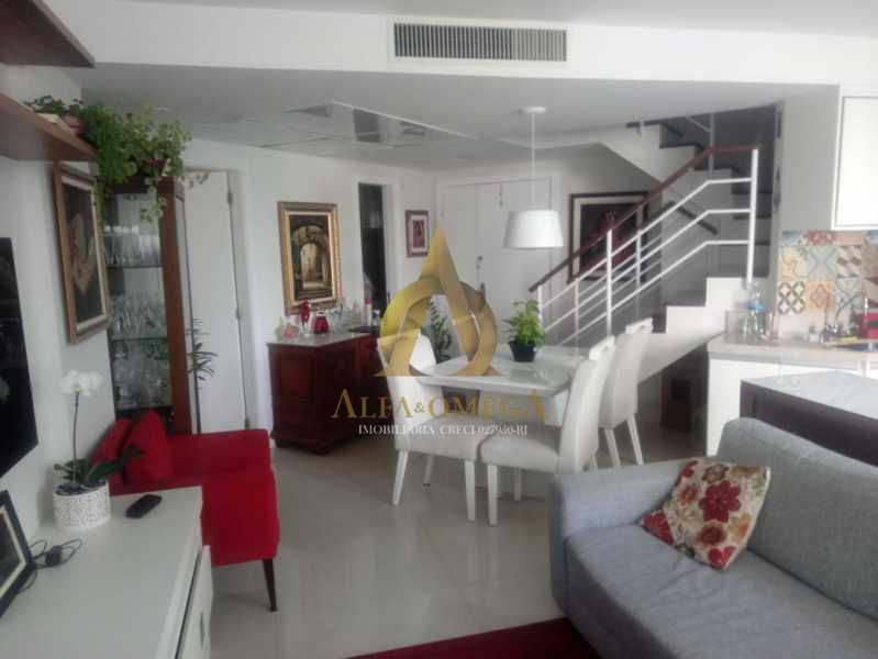 6. - Apartamento 2 quartos à venda Barra da Tijuca, Rio de Janeiro - R$ 1.415.000 - AO20509 - 6
