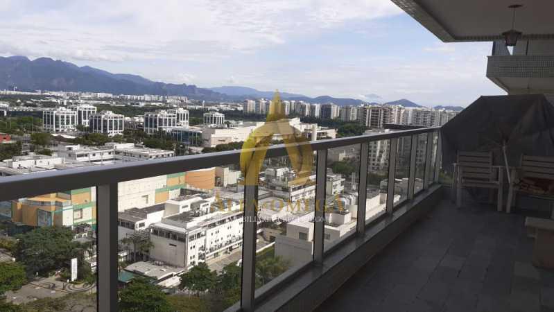 1. - Apartamento 2 quartos à venda Barra da Tijuca, Rio de Janeiro - R$ 850.000 - AO20510 - 3