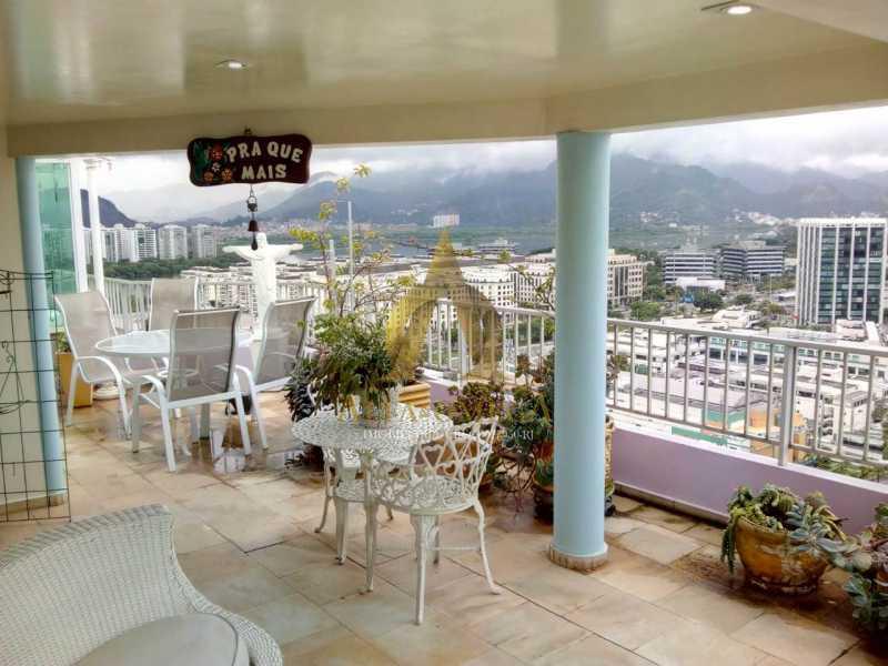 25. - Cobertura 2 quartos à venda Barra da Tijuca, Rio de Janeiro - R$ 2.000.000 - AO50134 - 23