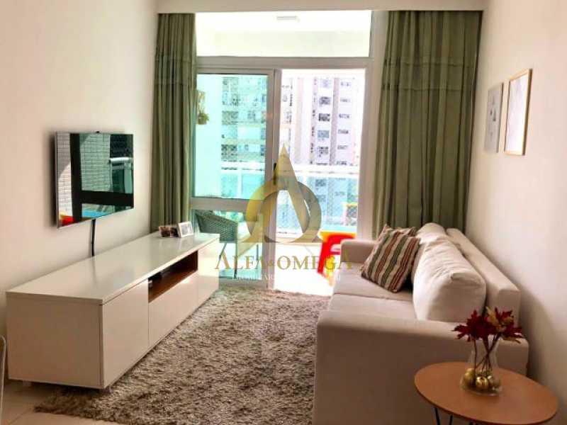 3. - Apartamento 2 quartos à venda Barra da Tijuca, Rio de Janeiro - R$ 1.370.000 - AO20512 - 1