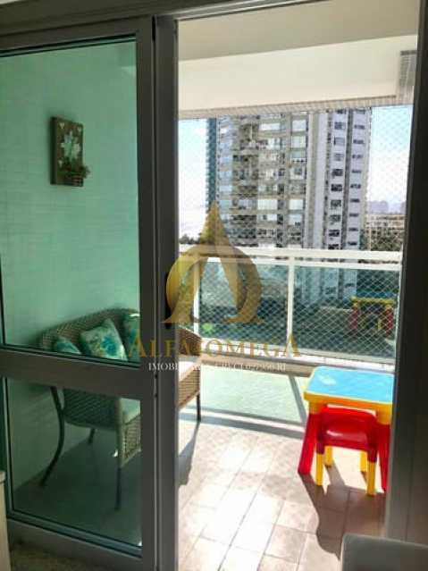 4. - Apartamento 2 quartos à venda Barra da Tijuca, Rio de Janeiro - R$ 1.370.000 - AO20512 - 3